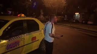 Taximetrist batut de jandarmi