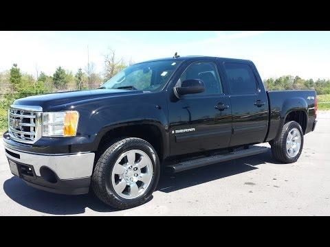 sold.2009 GMC SIERRA 1500 SLT CREW CAB 4X4 BLACK 39K GM CERTIFIED call 855.507.8520
