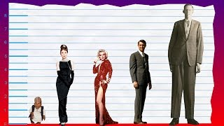 How Tall Is Audrey Hepburn? - Height Comparison!