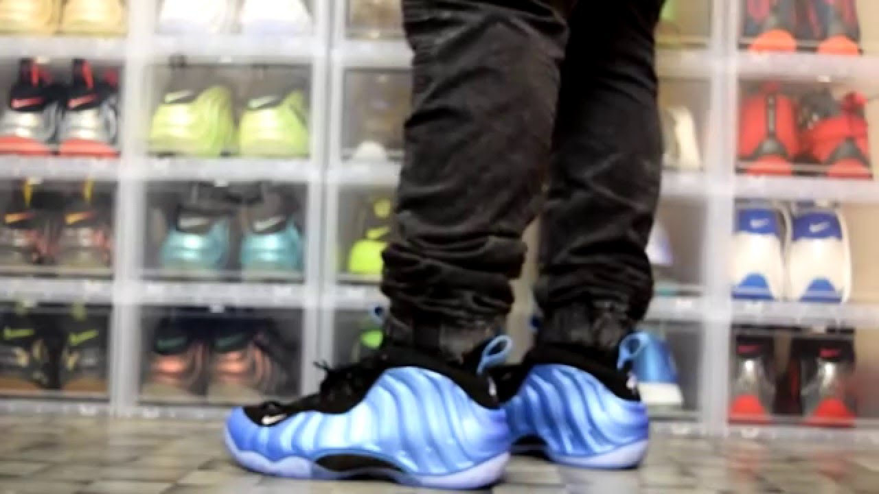 Little Posite One Black Cereal Foamposite TD Size 10c 10 C ...