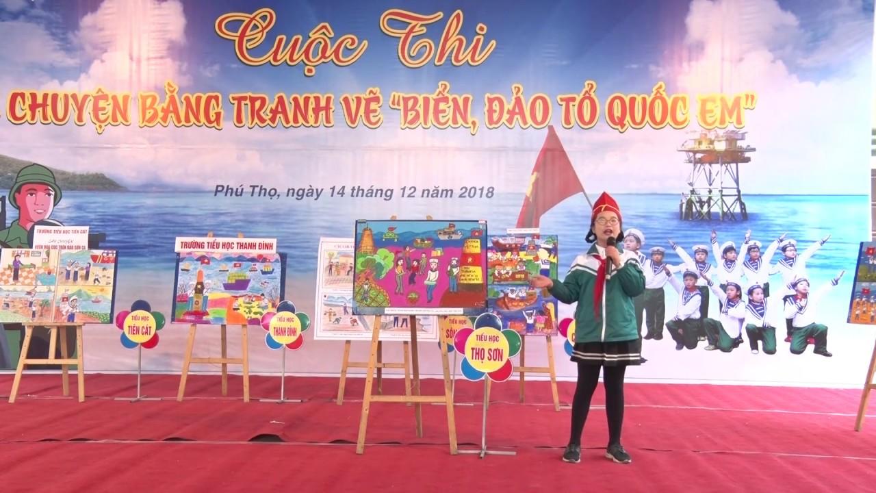 Giải nhất cuộc thi kể chuyện bằng tranh vẽ – Trường tiểu học Thọ Sơn