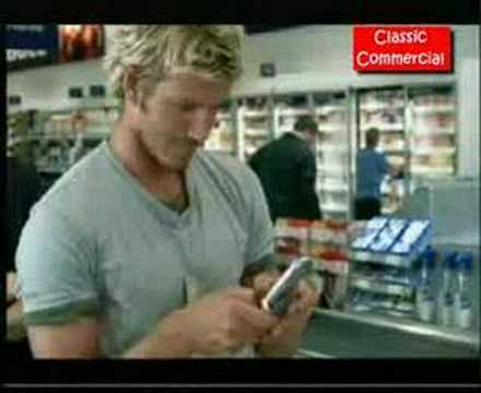 David Beckham Cell Phone Commercial