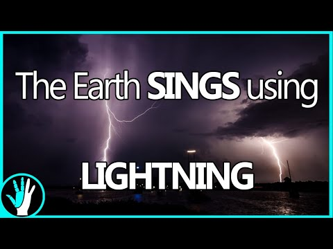 Natural Radio From Lightning Sounds INCREDIBLE- VLF Radio