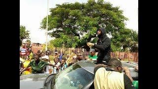 Davido à Conakry -  Première réaction