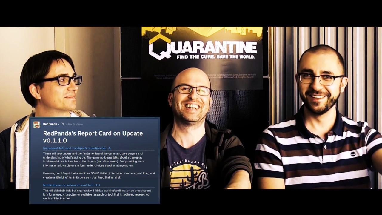 Quarantine Developer Interview Part 2