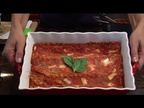 Whole Wheat Vegetarian Lasagna: Vegetarian Recipes