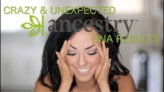 CRAZY & UNEXPECTED Ancestry DNA results!