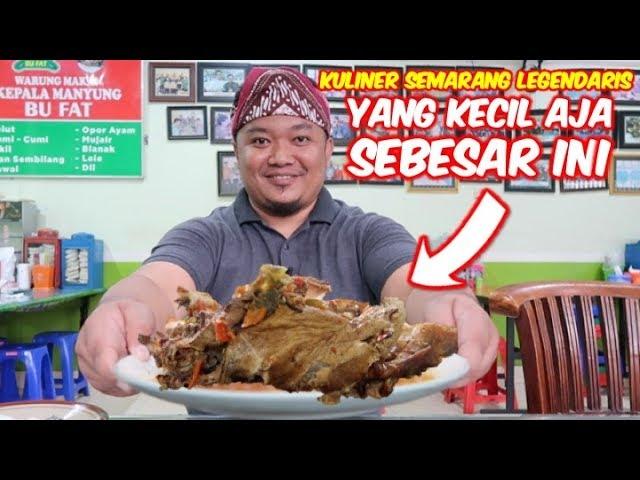 Mangut Kepala Manyung Bu Fat Kuliner Semarang Legendaris Yang Diburu Pecinta Kuliner Pedas Youtube