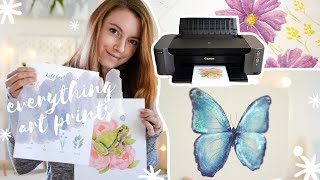 Фото How To Make Art Prints To Sell For ETSY Webshop \u0026 Art Business