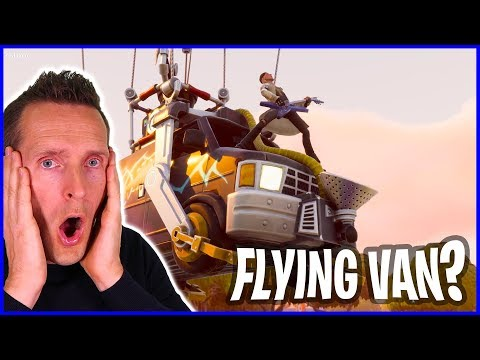Flying Van - Weather Balloon - Fortnite Save the World