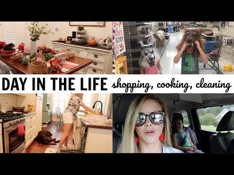 DITL // COOKING, CLEANING, SHOPPING // TARGET CLOTHING HAUL