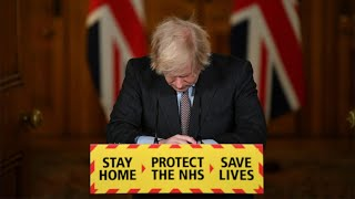 Boris Johnson 'deeply sorry' as UK death toll passes 100,000