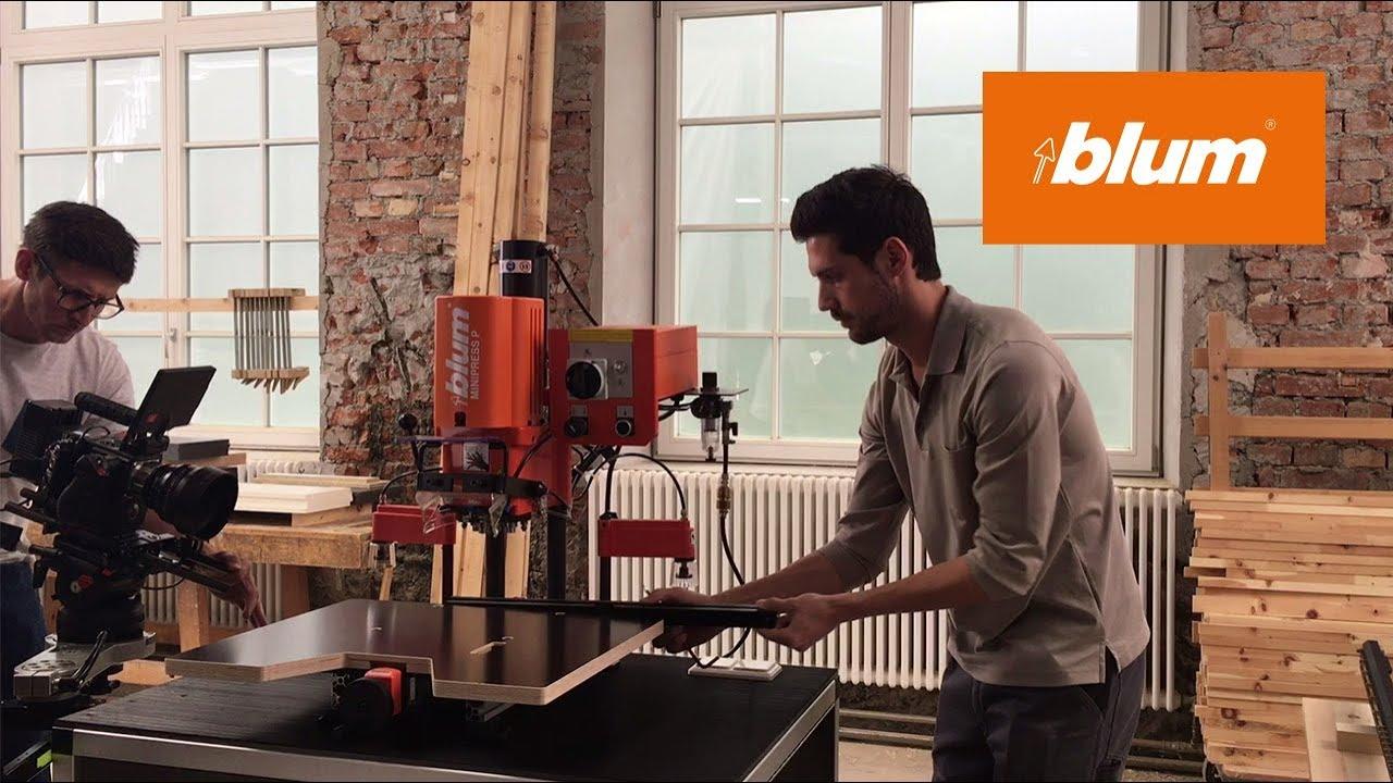 Blum EASYSTICK: Behind The Scenes Video Shoot. Blum Furniture Fittings