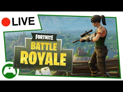 Xbox On Live | Fortnite Battle Royale Livestream!