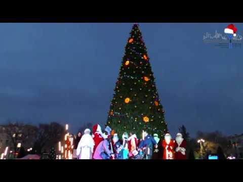 В Невинномысске зажгли огни на главной елке!