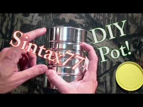 DIY Ultralight Titanium Cook Pot Alternative