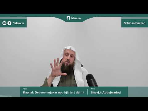 Sahih al-Bukhari | Kapitlet: Det som mjukar upp hjärtat | del 14