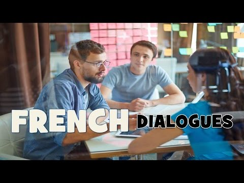Learn French with 20 dialogues