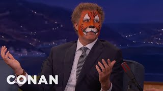 Will Ferrell's College Janitor Prank  - CONAN on TBS