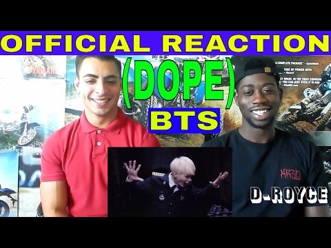 MV BTS - DOPE (OFFICIAL REACTION)