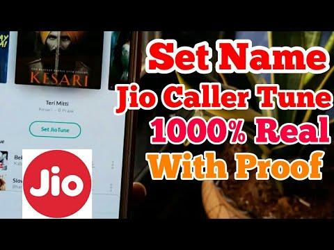 Repeat Set Name Jio Caller Tune in Jio sim || Jio main Name