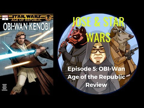 Star Wars Comics Age Of The Republic Obi Wan Comic Review