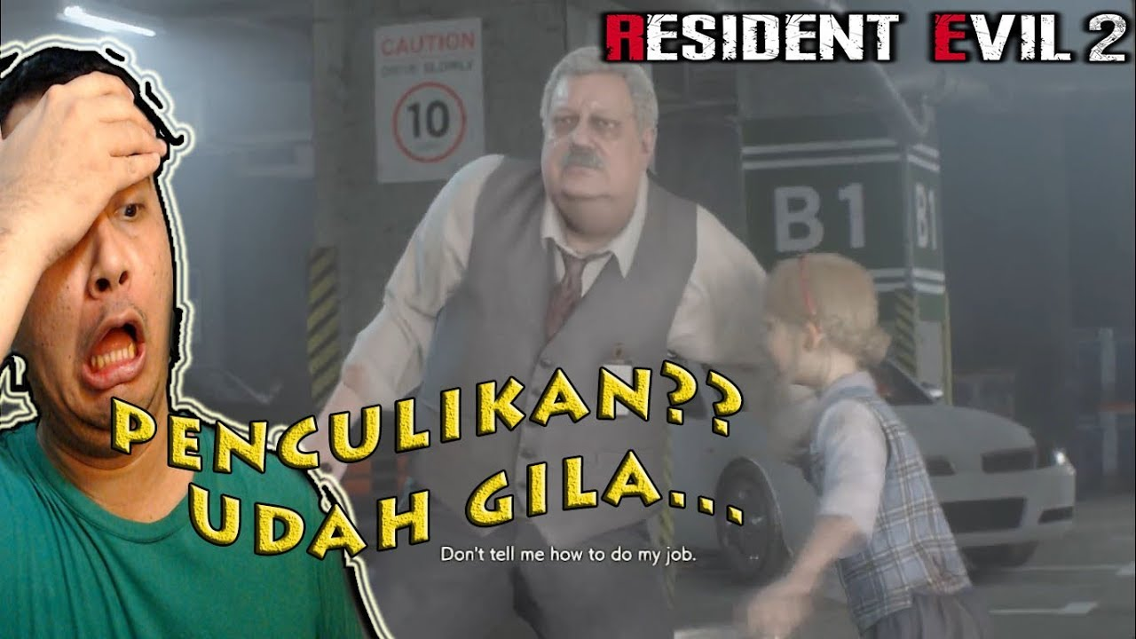 Bocilnya diculik duuuude - Resident Evil 2 Indonesia - Claire Part 3