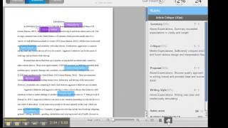 View Professor Comments in Turnitin