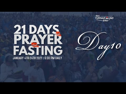 DOMI STREAM : DAY 10 | ANNUAL PRAYER & FASTING  | 13, JANUARY 2021 | FAITH TABERNACLE OTA