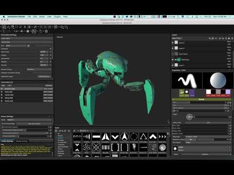 Maya + Substance Painter to Sketchfab tutorial