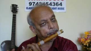 """Yava Kaviyu Bareyalara""""Bhagyada Lakshmi Baramma""""movie """"FLUTE"""""""