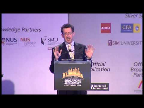 ISCA Auditing & Assurance Conference: Mr Robert Hodgkinson on the Future of Audit Part 1 of 3