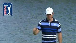 Rory McIlroy's impressive eagle at THE NORTHERN TRUST 2019