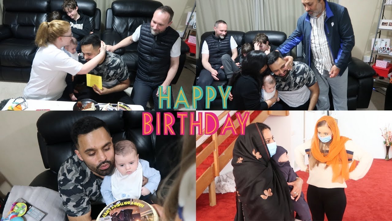 CELEBRATING MY FIRST BIRTHDAY AS A DAD IN LOCKDOWN | Family Vlog