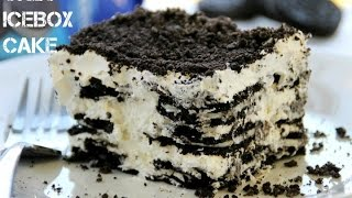 Oreo Icebox Cake - 2 Ingredients