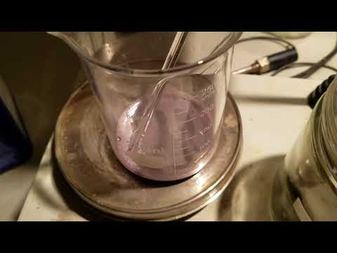 The reaction of Cobalt with concentrated Sulfuric acid