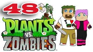 ч.48 Растения против Зомби с кошкой - Выживание: День (сложно)