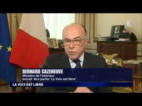 Bernard Cazeneuve et Joël Bruneau invités de France 3 Basse-Normandie 18 avril 2015