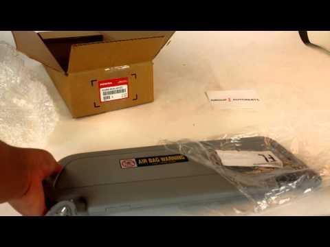 How To Repair A 2006 09 Honda Civic Visor Funnycat Tv