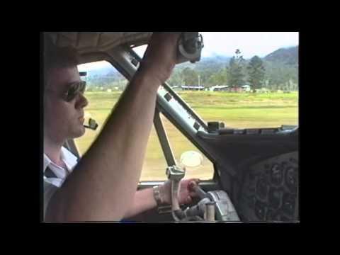 landing & unloading in Telefomin PNG.wmv