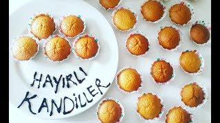 PORTAKALLI KEK / Çocuklar için Kandil Kekleri / Orange Cake /HOW TO MAKE THE MOST EASY CAKE RECİPE