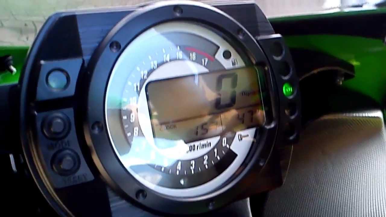 2006 Ninja Zx636r Fi Light Fix Youtube
