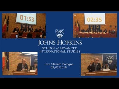 """🔴 Dibattito alla Johns Hopkins University SAIS Europe di Bologna """"Il futuro dell'economia italiana"""""""