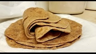 Soft Whole Wheat Flour Tortilla Recipe