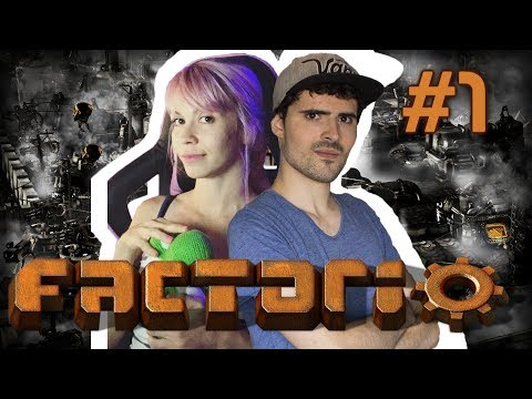 Factorio en Español / Ep. 1 Coop / Terixita is real