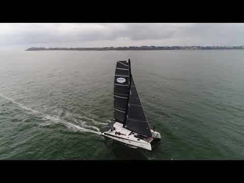 """Première navigation du TS5 """"Addictive Sailing"""""""