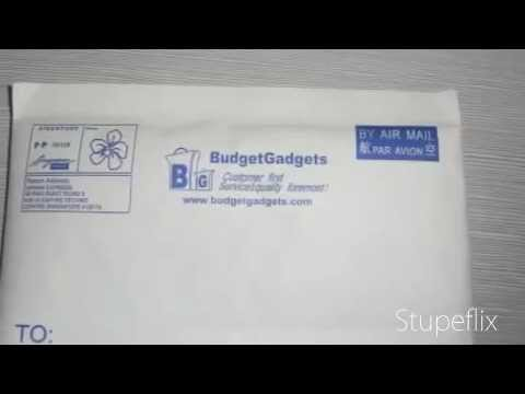 Air mail Singpost singapore post Packaging of budgetgadgets.com