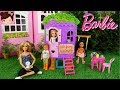 Barbie Chelsea Doesnt Wanna Play with the Boys in Her New Tree Doll House 音乐视频片