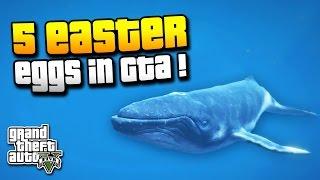 GTA 5 | 5 WEITERE EASTER EGGS DIE DU VIELLEICHT NOCH NICHT KANNTEST ! | RIESENWAL & MEHR | IDzock