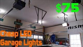 homepage tile video photo for Cheap LED Garage Lighting (Episode 3)